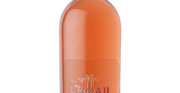bouteille vin lavau cote de provence rosé